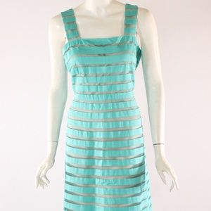 Adrianna Papell Turquoise Dress Size 14